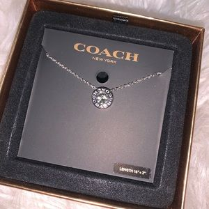 New coach necklace
